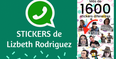 Stickers para whatsapp lizbeth rodriguez pack