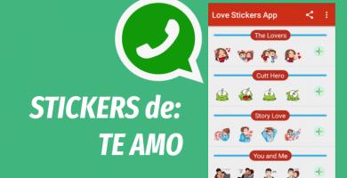 Stickers para whatsapp te amo