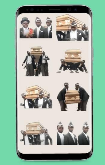 sepultureros negros bailando