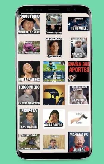 sticker de memes con frases virales