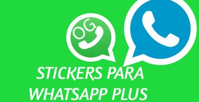stickers para whastapp plus