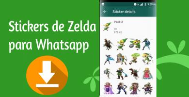 Stickers para whatsapp de zelda