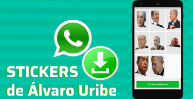 descargar stickers para whatsapp alvaro uribe pegatinas