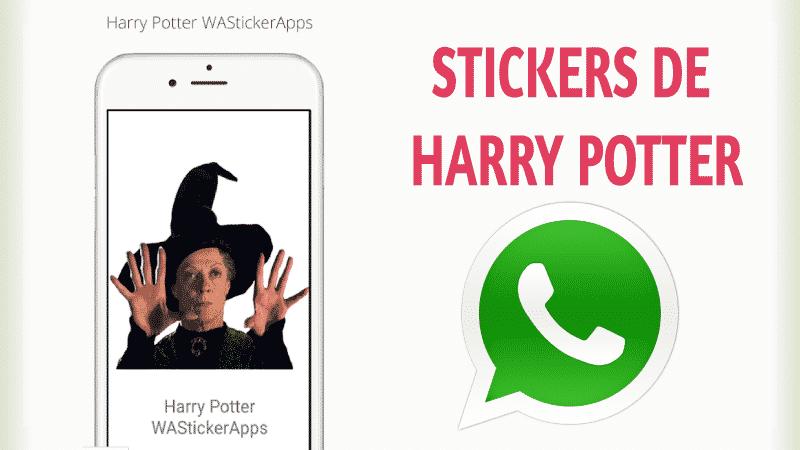 Stickers para whatsapp Harry Potter 【 Más Populares 】