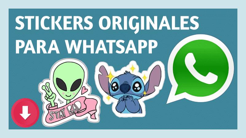 descargar stickers para whatsapp originales pegatinas