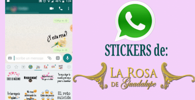 descargar stickers para whatsapp la rosa de guadalupe