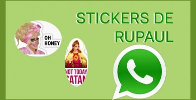 descargar stickers para whatsapp rupaul pegatinas