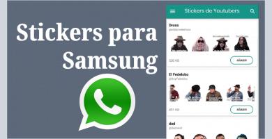 descargar stickers para whatsapp samsung