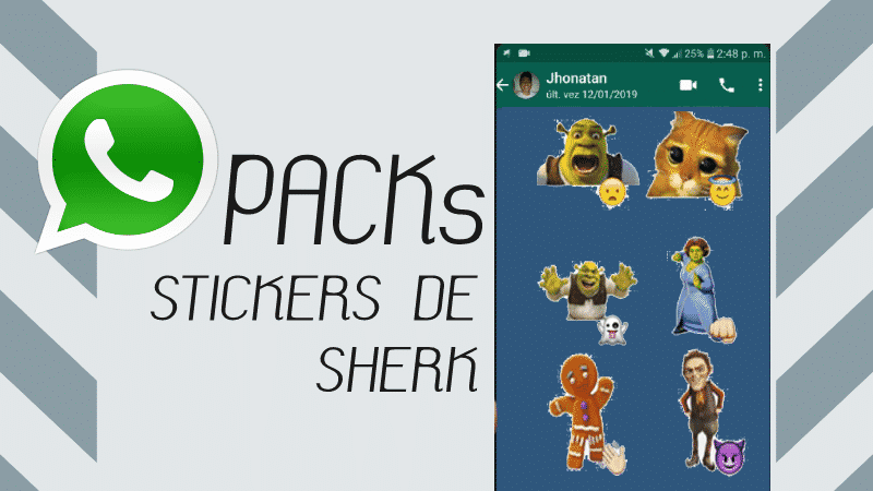 descargar stickers para whatsapp sherk