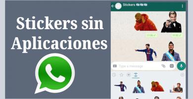 descargar stickers para whatsapp sin app