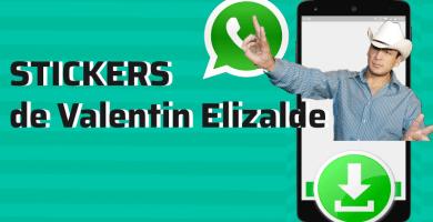 descargar stickers para whatsapp valentin elizalde pegatinas