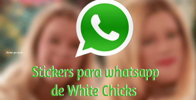 stickers para whatsapp white chicks