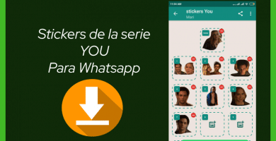descargar stickers para whatsapp you serie