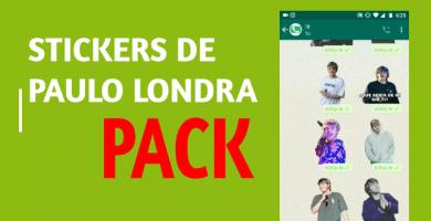 descargar Stickers de Paulo Londra para whatsapp