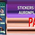 descargar Stickers de auronplay para whatsapp