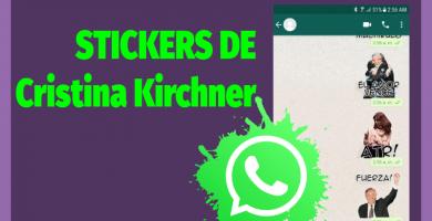 descargar Stickers Cristina Kirchner para whatsapp