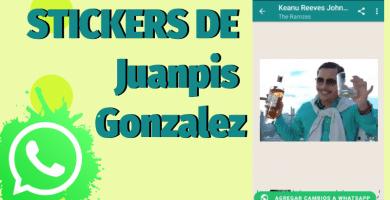 Stickers de Juanpis Gonzalez para whatsapp