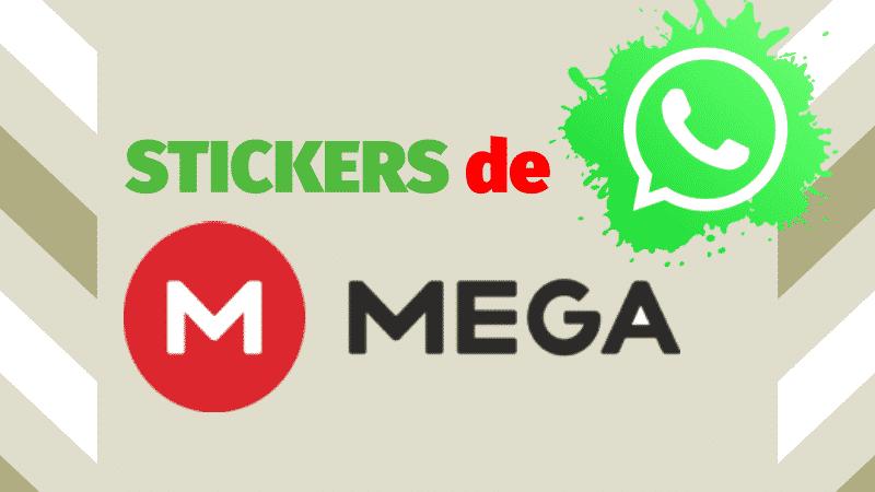 descargar stickers de mega para whastapp