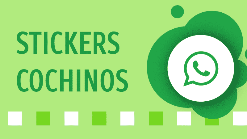 Stickers cochinos para whatsapp