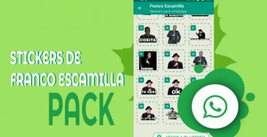 Stickers de Franco Escamilla para whatsapp