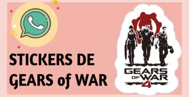 Stickers de Gears of War para whatsapp