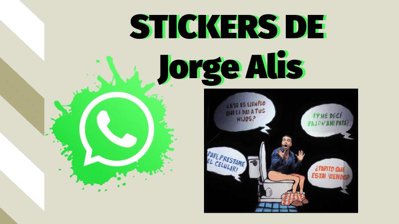 Stickers de Jorge Alis para whatsapp
