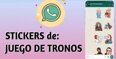 Stickers de Juego de Tronos para whatsapp