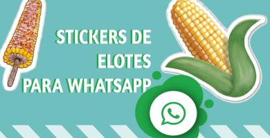 Stickers de elote para whatsapp