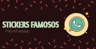 Stickers de famosos para whatsapp