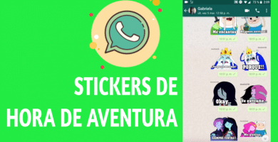 Stickers de hora de aventura para whatsapp