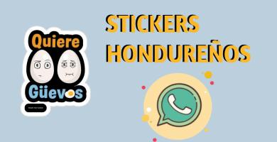 Stickers hondureños para whatsapp
