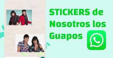 descargar Stickers para whatsapp nosotros los guapos