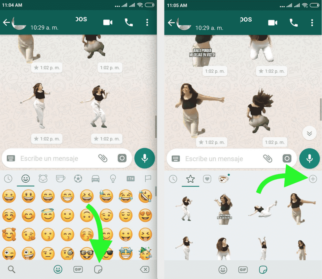 como eliminar stickers de whatsapp android