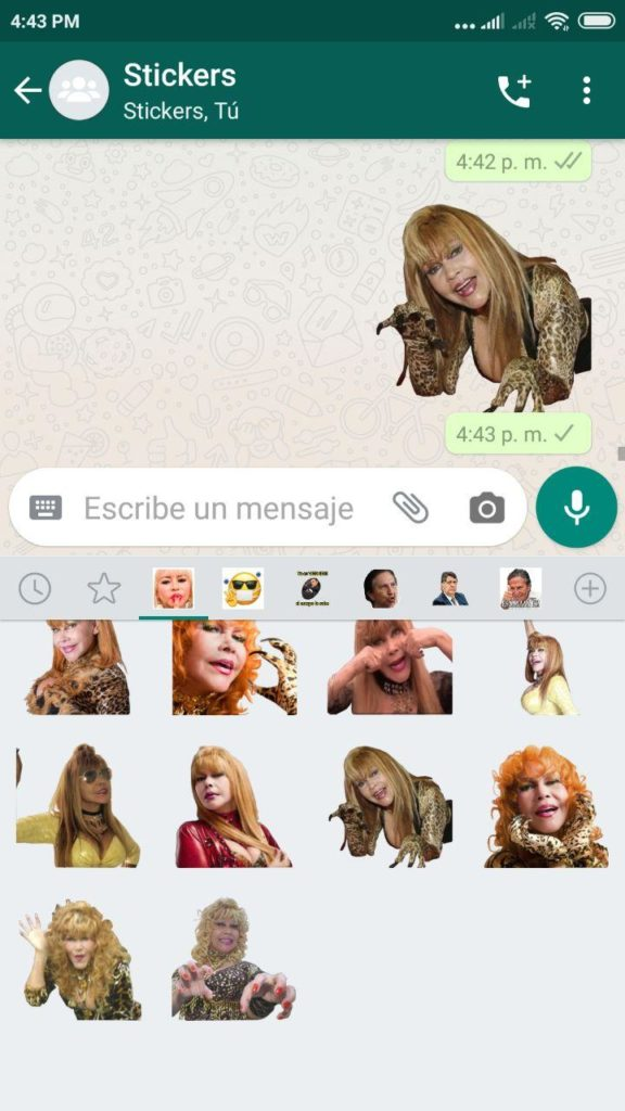 memes Stickers de Tigresa del oriente para Whatsapp