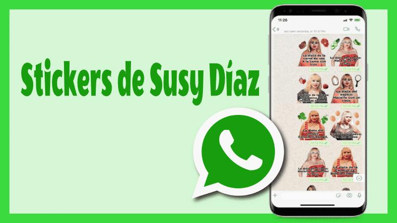stickers de susy dias para whatsapp