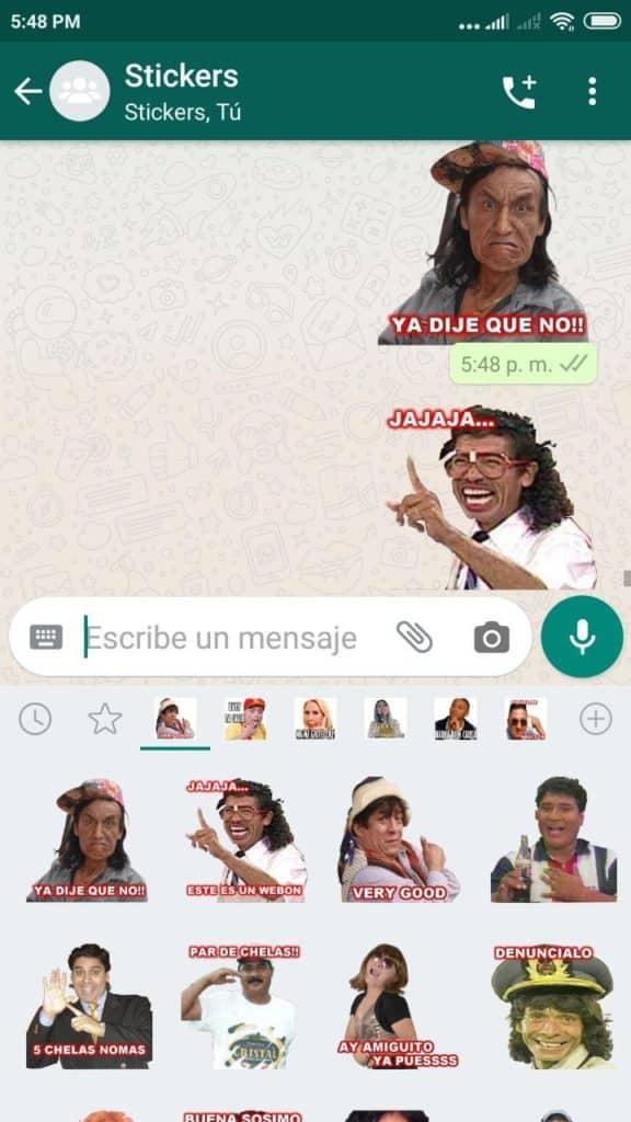 descargar Stickers de Comicos Ambulantes para Whatsapp