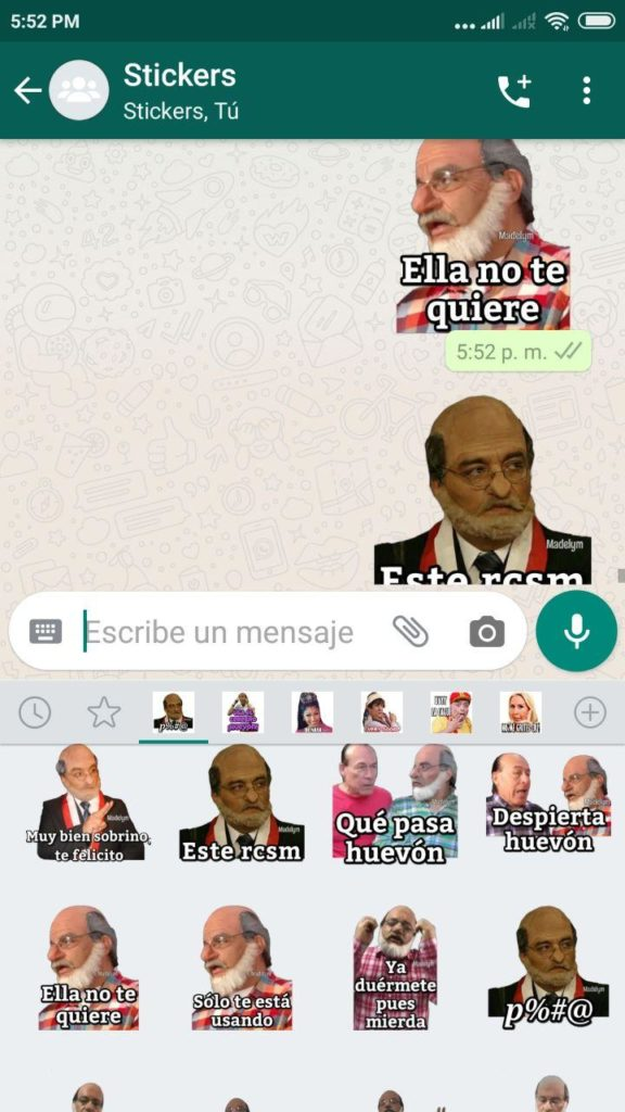 descargar Stickers de Daniel Lisuritas para Whatsapp