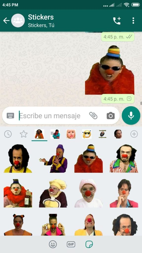 descargar Stickers de Pataclaun para Whatsapp
