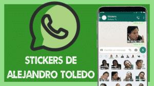 stickers de alejandro toledo para whatsapp
