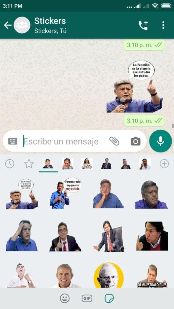 stickers de cesar acuñar whatsapp