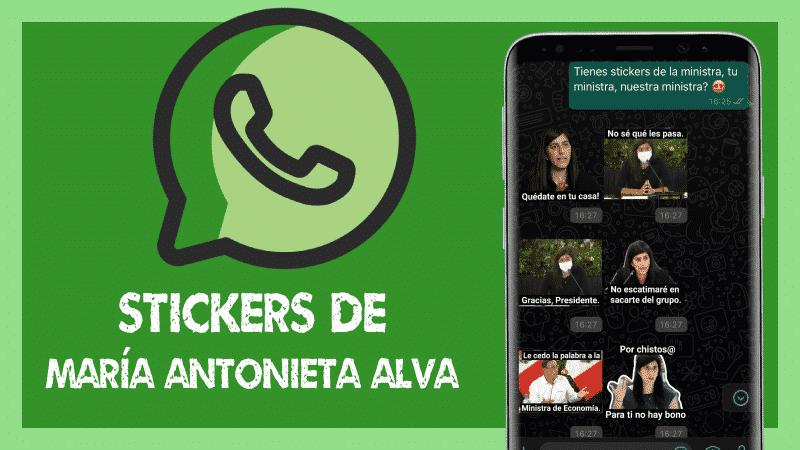 Líbero WhatsApp Stickers María Antonieta Alva Sticker