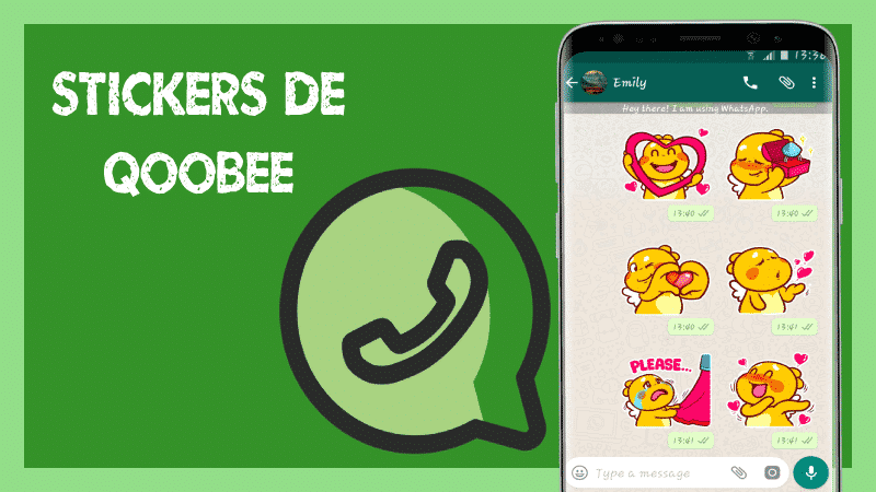 descargar Stickers de Qoobee para Whatsapp